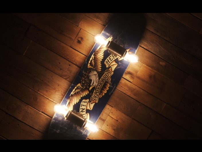 Narma Skateboard Lamps